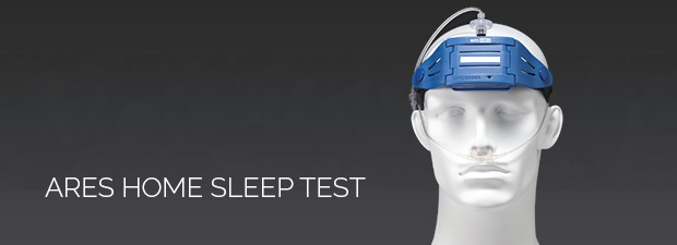 Ares home sleep test picture.