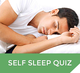 Self Sleep Test